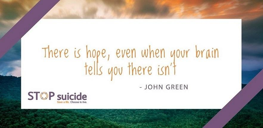 There is hope banner